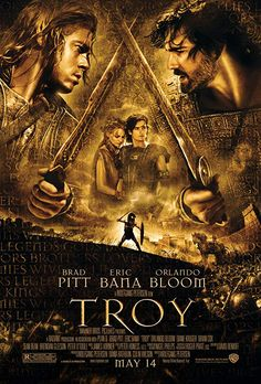 Watch Streaming Troy : Movie In Year 1250 B. During The Late Bronze Age, Two Emerging Nations Begin To Clash. Troy Film, Troy Movie, I Movie, Original Movie Posters, Film Posters, Film 1990, Julian Glover, Brendan Gleeson, Brian Cox