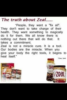 Change your health today!! Zeal For Life! www.beneharper.zealforlife.com