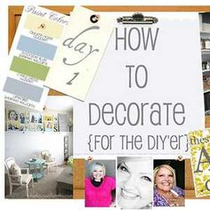 I'm so excited to kick off our How to Decorate series with Shelley from The House of Smiths! This girl knows how to decorate and never disappoints! I think I first fell in love with She Pintura Exterior, Creation Deco, Decorating Tips, Holiday Decorating, Interior Decorating, Interior Design, Home Projects, Diy Home Decor, Home Improvement
