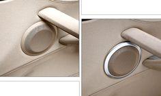 Front Door Speaker Sound Cover Trim 2pcs For BMW X1 E84 2009 -2015 Car Interior Decoration Car-styling