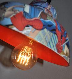 Marvel ComicsSpider Man lamps Loft