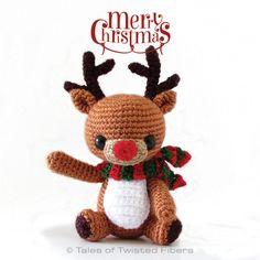 Amigurumi Rudy, The Reindeer - Tutorial ❥ 4U // hf http://www.pinterest.com/hilariafina/
