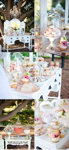Pastels Sweets table