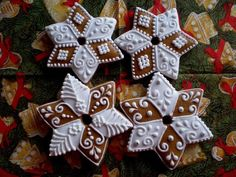 Star Cookies, Cupcake Cookies, Gingerbread Cookies, Christmas Cookies, Christmas Ornaments, Christmas And New Year, Christmas Time, Cookie Designs, Biscotti