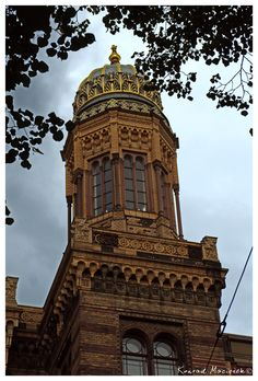 Neue Synagoge in Berlin tower
