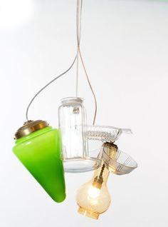 Multi Vase Lighting by Atelier Remy & Veenhuizen
