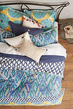 Crackled Batik Quilt $130 Sale at Anthropologie.com