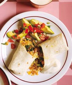 Bean, Spinach, and Quinoa Burritos recipe