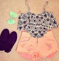 girls love this outfit some advice you dont need to be skinny to be beautiful or be with perf body your beautiful just the way you are who says u can't rock this out with the body you got now?