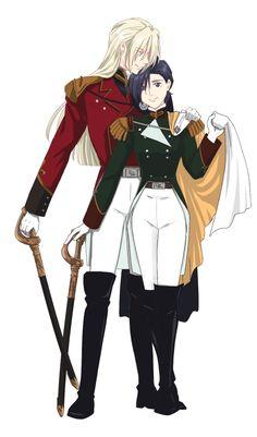 Gundam Wing: Milliardo Peacecraft, Lucrezia Noin Gundam Wing, Gundam Art, Mecha Anime, New Mobile, Picts, Studio S, Mobile Suit, Romantic Couples, Cartoon Drawings