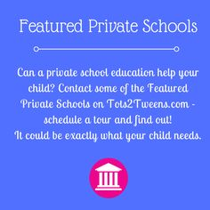 Find Featured Private Schools