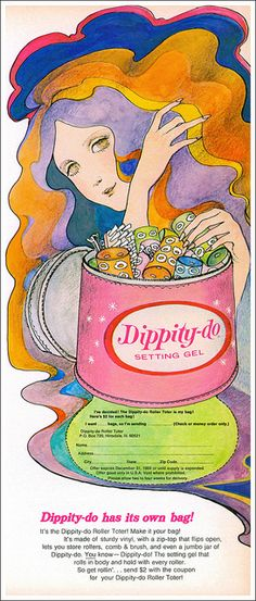 Dippity-do Has Its Own Bag, 1969 by MewDeep, via Flickr