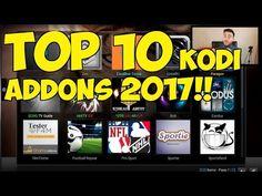 TOP 10 BEST KODI ADDONS 2017!!! - YouTube