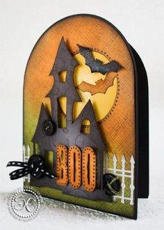 Halloween card by klgambler