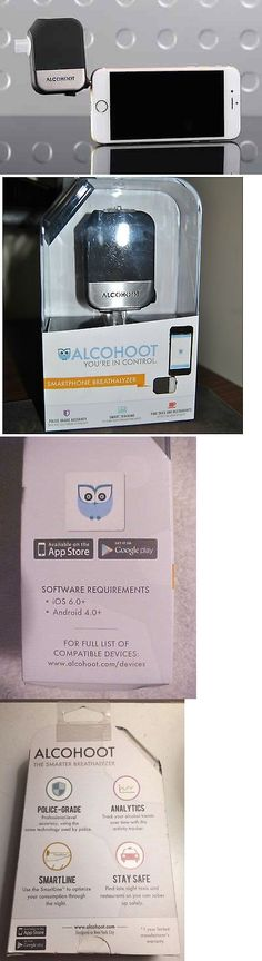 Breathalyzers: Alcohoot Aht191 Smartphone Alcohol Breathalyzer Black BUY IT NOW ONLY: $59.95