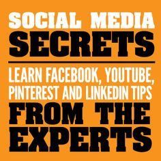 Social Media Secrets: Learn Facebook, YouTube, Pinterest and LinkedIn Tips from the Experts / Rob suggest a very good list of experts to follow...