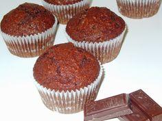 Môj sladký život v Koláčikove: Celozrnné čokoládovo-kokosové mafiny Muffin, Breakfast, Food, Morning Coffee, Essen, Muffins, Meals, Cupcakes, Yemek