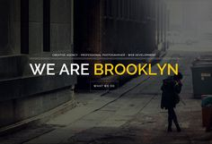 Brooklyn is Premium Responsive Parallax Single Page Portfolio HTML5 Template for freelancers and agencies.