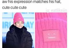 Rapmon gave taehyung the hat I'm pretty sure he likes it