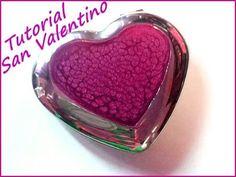 Idea per San Valentino, tutorial come decorare uno specchietto a cuore c...