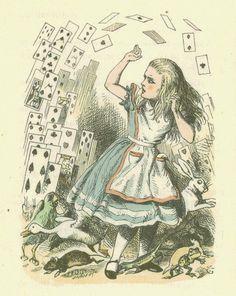 "Sir John Tenniel | ILLUSTRATION | Alice's Adventures in Wonderland | ""Alice With the Duchess"""
