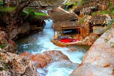 Day tours from Marrakech to Ourika valley, excursions from Marrakech, Ourika valley 1 day tour starting from Marrakech Marrakech, Beautiful Roads, Beautiful Landscapes, Down From The Mountain, Desert Days, Atlas Mountains Morocco, Destinations, Thing 1, Short Break