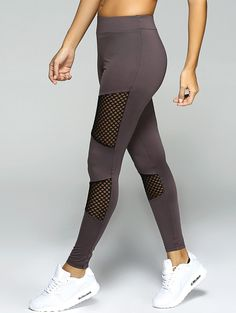 Gamiss Newest Women Mesh Spliced Sport Leggings Fitness Workout Yoga Pants Exercise Gym Pants Running Leggings Sport Bottom Sports Leggings, Workout Leggings, Leggings Sale, Running Leggings, Cheap Leggings, Mesh Leggings, Yoga Leggings, Printed Leggings, Workout Attire