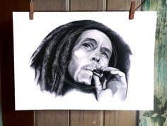 Bob Marley A4 PRINT