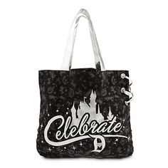 disney parks disneyland 60th diamond celebration tote bag new with tags