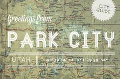 Excited that my Park City Guide Update is on Design*Sponge today!