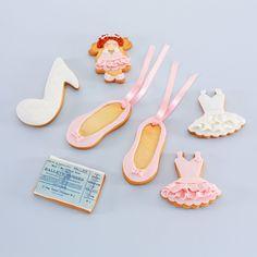 "Pack ""Ballet"" Galletas decoradas"