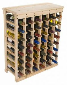 Builds up to 16000 Carpentry Projects - But using something better looking than the nails to hold the bottles on the rack although Additional wine rack plans Builds up to 16000 Carpentry Projects - Get A Lifetime Of Project Ideas and Inspiration! Woodworking Courses, Diy Woodworking, Carpentry Courses, Woodworking Videos, Woodworking Magazine, Popular Woodworking, Youtube Woodworking, Woodworking Furniture, Carpentry Projects
