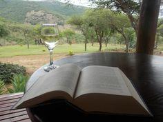 Wine, book... Africa
