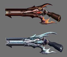 weapons - Daeva's Report
