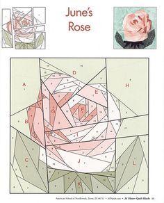 24 flower quilt blocks 13 | Flickr - Photo Sharing!