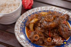 Rabo Encendido aka Oxtail Stew is a very special dish. To start, I lose all sense whenever I'm making this because of… Oxtail Recipes Easy, Cube Steak Recipes, Cuban Recipes, Beef Recipes, Soup Recipes, Cooking Recipes, Recipies, Slow Cooking, Cooking Ideas