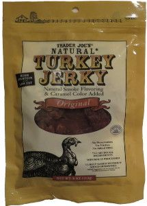 Discover how Trader Joe's® - Original turkey jerky fared in a jerky review http://jerkyingredients.com/2014/08/01/trader-joes-original-turkey-jerky/ #turkeyjerky #reviews #food #jerky #ingredients