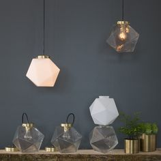 Fuller Pendant -  Geodesic designs from Schoolhouse Electric <3