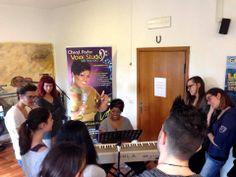 Masterclass con Cheryl Porter: lezione di tecnica vocale.