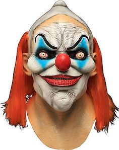 #Dexter the clown #latex mask evil #killer klown halloween ghoulish productions,  View more on the LINK: http://www.zeppy.io/product/gb/2/231843127521/