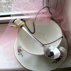 colher de chá, xícara