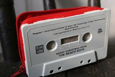 Merry Christmas From The Beach Boys- cassette tape wallet