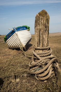 Get Blue and white boat at Porlock weir. photos and images from Picfair. Find high-quality stock photos that you won't find anywhere else. Old Boats, Small Boats, Sailboat Painting, Boat Art, Yacht Boat, Am Meer, Wooden Boats, Beach Scenes, Water Crafts