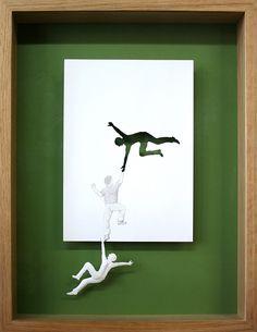 A incrível arte no papel A4 de Peter Callesen