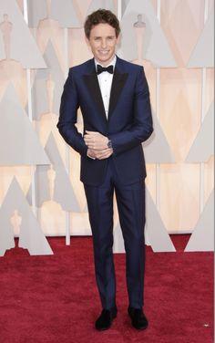 Oscary 2015: Eddie Redmayne, fot. East News