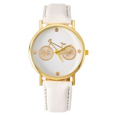 BICYCLE WATCH WHITE 2016