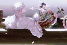 Best Crossover, Anime Crossover, Manga Art, Anime Art, Mononoke Anime, Fan Picture, Kawaii, Japanese Cartoon, Anime Fantasy