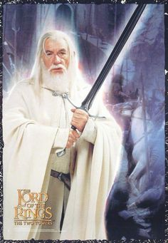 Gandalf the White, originally grey, he becomes The White after the fall of Saruman