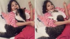 Girl with Special Needs Falls in Love with Cat no one else wanted! For animal people. Pass it on.