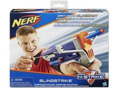 Nerf Lança Dardo N-Strike Elite SlingStrike - Slingshot - Hasbro com as melhores condições você encontra no Magazine Voceflavio. Confira!